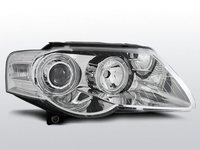 Faruri VW PASSAT B6 3C 03.05-10 ANGEL EYES Cromat