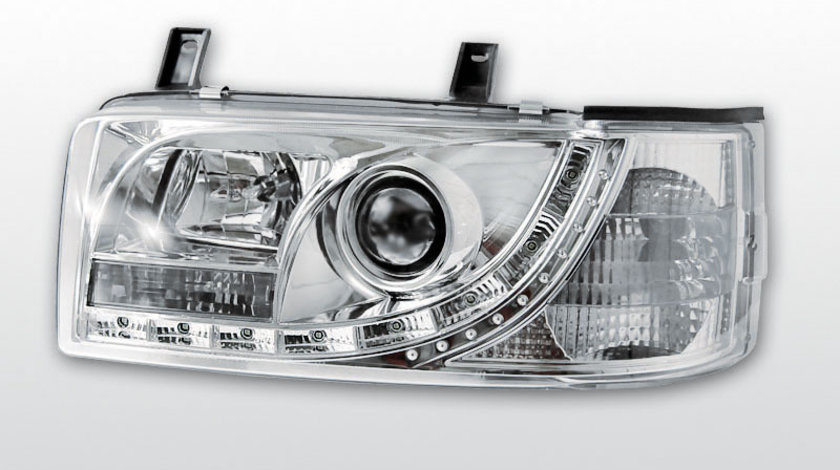 Faruri VW T4 1990-2003 Transporter model Daylight Cromat