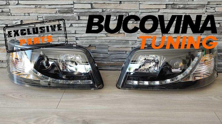 Faruri VW T5 (03-09) LED Black Design