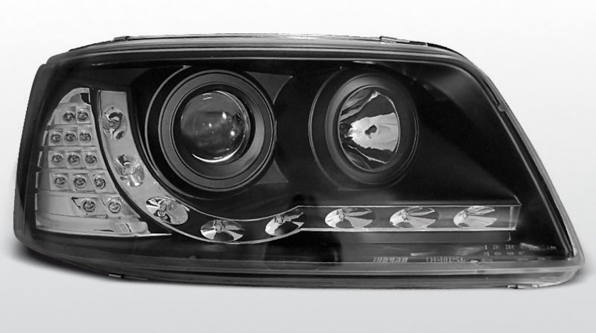 Faruri VW T5 2003-2009 Daylight Negru