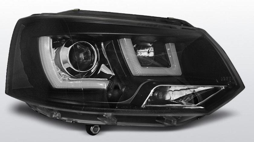 Faruri VW T5 2010-2015 U-Type Negru