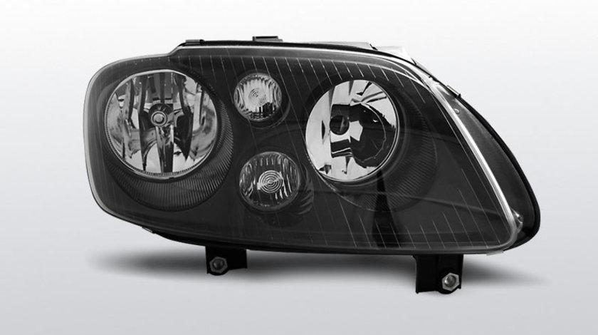 Faruri VW Touran 2003-2006 / VW Caddy Negru