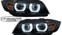 Faruri Xenon U Led 3D BMW Seria 3 E90 E91 (03.2005...
