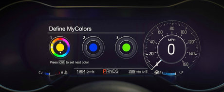 Farurile LED, ceasurile digitale si pielea sunt STANDARD. Uite cat costa in Romania noul Ford Mustang Facelift