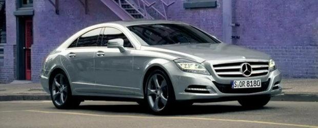 Fascinatie pura - Noul Mercedes CLS in toata splendoarea sa!