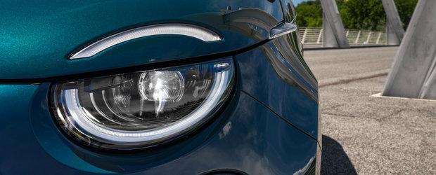 Fashion si cu zero emisii. Fa cunostinta cu noul FIAT 500 electric, in versiunea hatchback