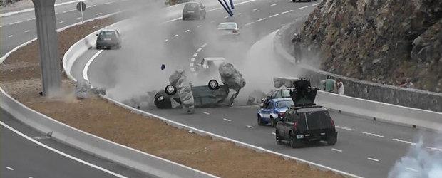 Fast and Furious 6 - Primele imagini de la filmari!
