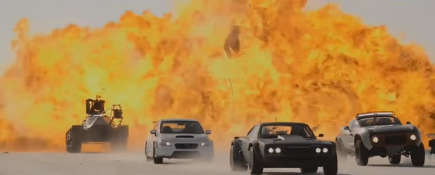 Fast and Furious 8: un nou teaser a inundat internetul