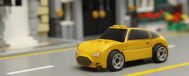 Fast and Furious cu Hyundai Veloster si o masina LEGO