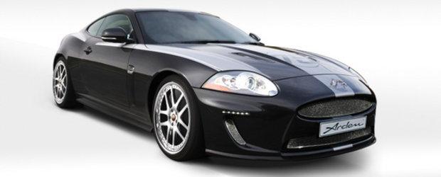 Felina Aristocrata: Arden rafineaza noul Jaguar XKR 75