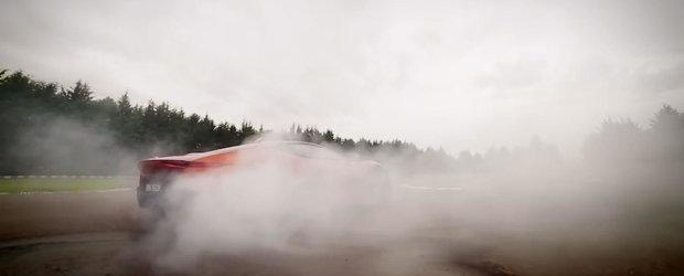 Felipe Massa abuzeaza Jaguar-ul C-X75 spre deliciul nostru vizual
