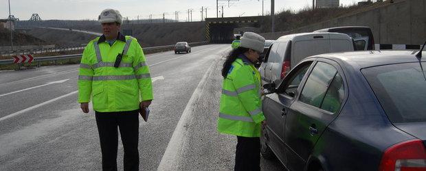 Femeie de 45 de ani merge cu 190 km/h pe contrasensul autostrazii A3