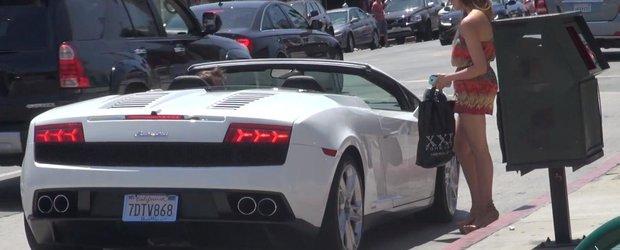 Femeile materialiste: cum agati fara cuvinte daca ai un Lamborghini