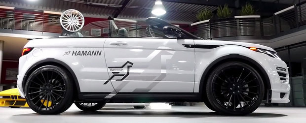 Fericiti cei ce conduc un Evoque Cabrio, caci pentru ei este noul pachet de tuning de la Hamann