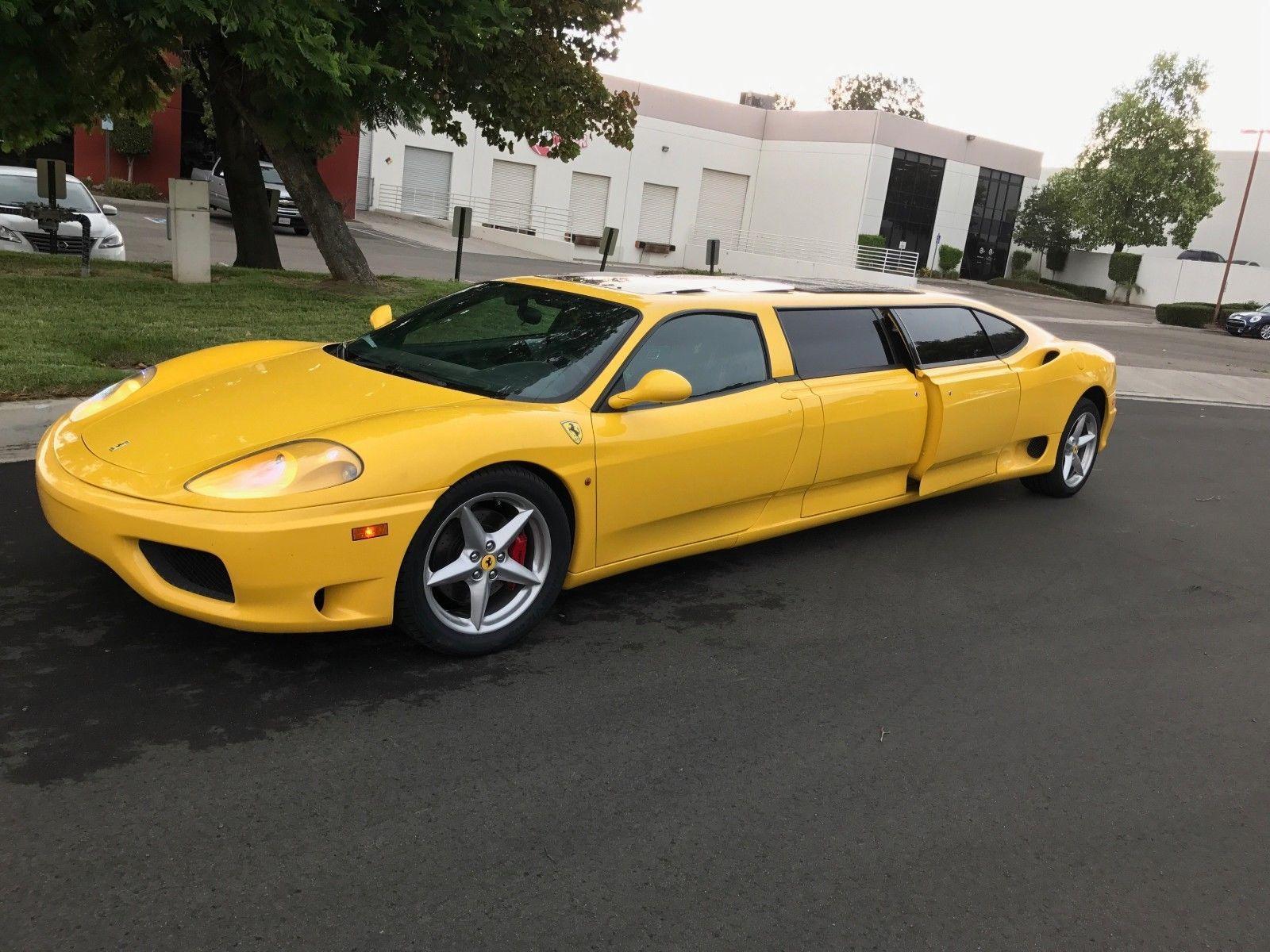 Ferrari 360 transformat in limuzina - Ferrari 360 transformat in limuzina