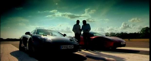 Ferrari 458 Italia si McLaren MP4-12C isi dau intalnire la Fifth Gear