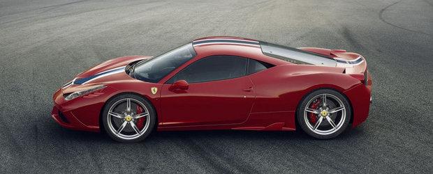Ferrari 458 Speciale: Special pentru iubitorii de senzatii extreme