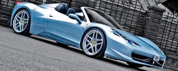 Ferrari 458 Spider by Kahn: Bun venit, perfectiune!