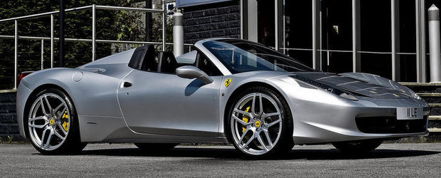 Ferrari 458 Spider by Project Kahn - Modificari minime, satisfactie maxima