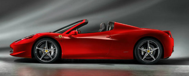 Ferrari 458 Spider, precomandat deja de zece romani