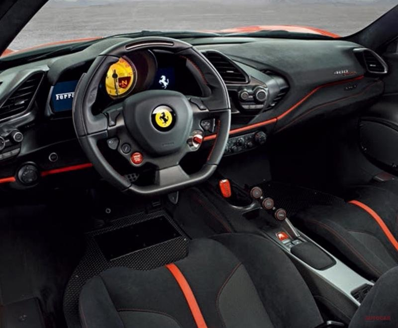 Ferrari 488 Pista - Primele poze