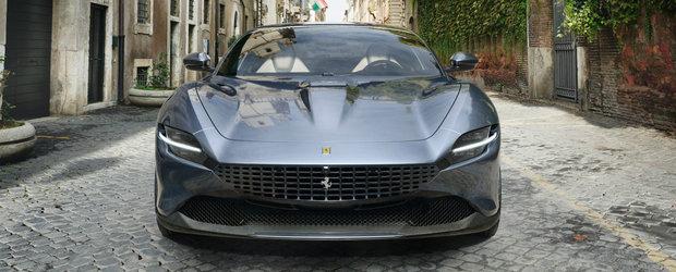 Ferrari a publicat acum toate detaliile. Noul ROMA este diferit de tot ce au lansat italienii pana acum
