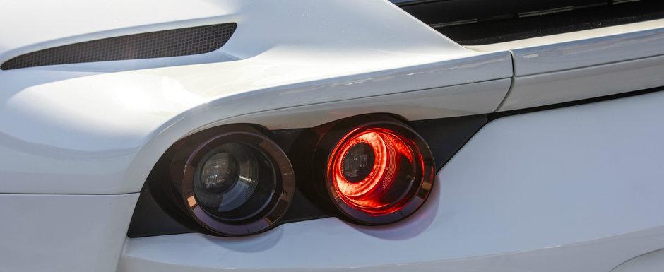 Ferrari a scos iar in teste noua super masina cu 850 CP. Despre ce model este vorba