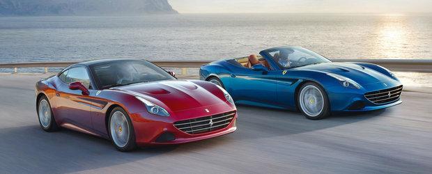 Ferrari California T isi controleaza puterea cu ajutorul pneurilor Bridgestone