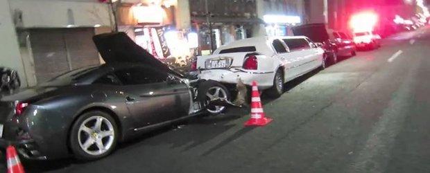 Ferrari California vs. limuzina