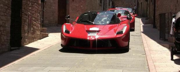 Ferrari Cavalcade e singurul eveniment la care poti admira 12+ LaFerrari-uri