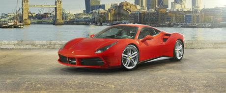 """Ferrari este iar deasupra tuturor. Modelul 488 GTB a fost desemnat """"Best Driver's Car"""" in 2017"""