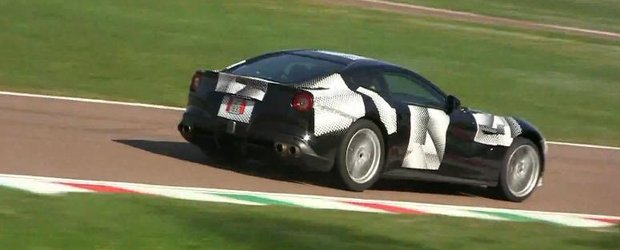 Ferrari F12 Berlinetta - primul film cu sunetul motorului, in toata splendoarea