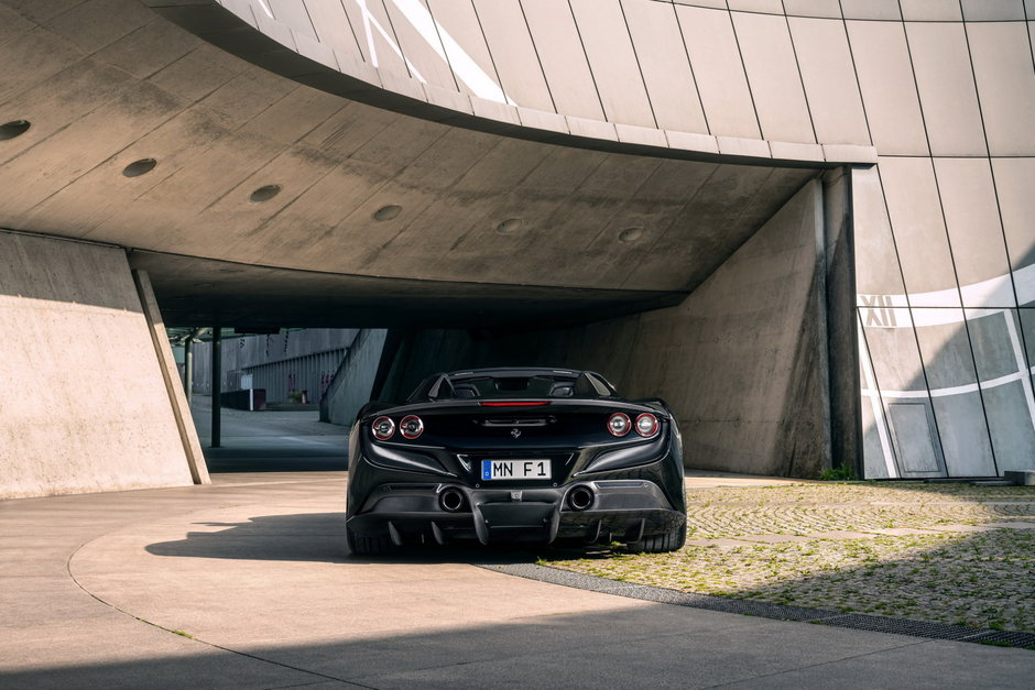 Ferrari F8 de la Novitec