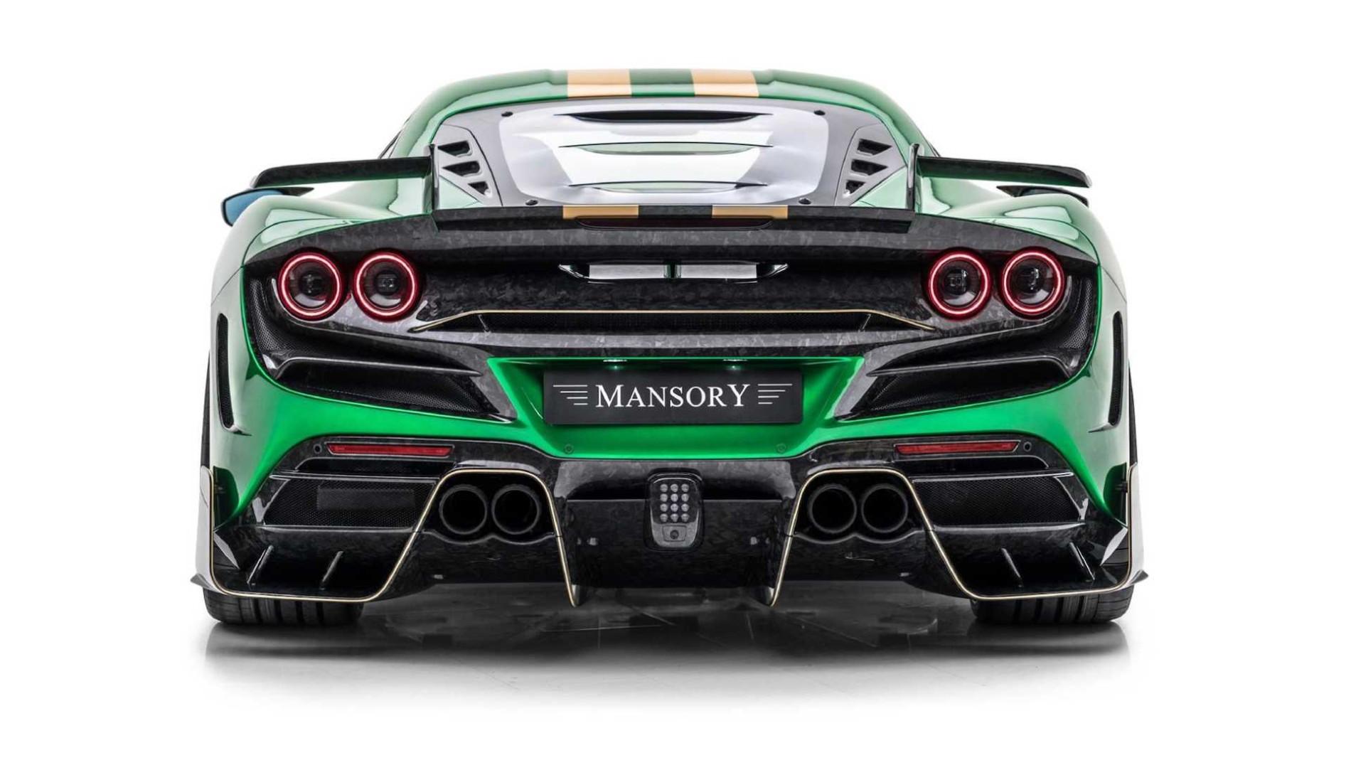 Ferrari F8 Tributo de la Mansory - Ferrari F8 Tributo de la Mansory