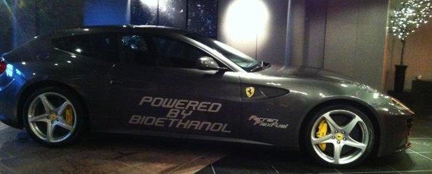 Ferrari FF de 887 cp care merge cu bioetanol - mai verde, mai puternic