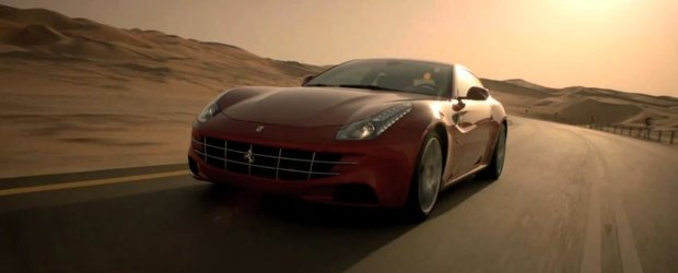 Ferrari FF pe zapada si in desert - primul film oficial