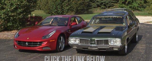 Ferrari FF sau Oldsmobile Cruiser: ce masina ti-ai dori?