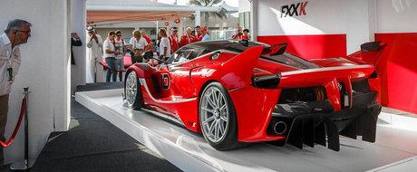 Ferrari FXX K costa 2.5 milioane euro. Toate exemplarele au fost deja vandute