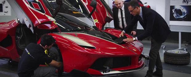Ferrari FXX K ne incanta privirile cu o noua aparitie speciala