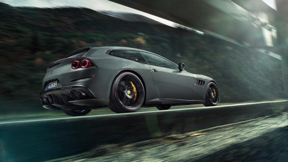 Ferrari GTC4 Lusso T de la Novitec