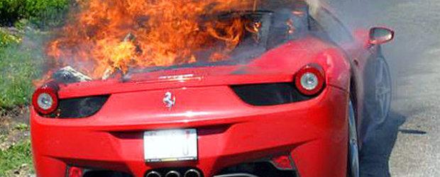 Ferrari incepe ancheta pentru modelul 458 Italia - prea multe masini au luat foc