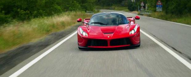 Ferrari LaFerrari revine pe micile ecrane, intr-un nou test pe strada si circuit