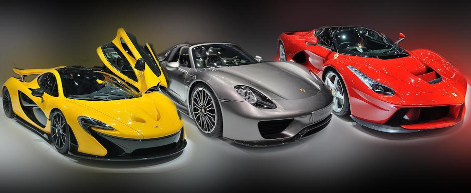 Ferrari LaFerrari Vs McLaren P1 Porsche 918 Spyder Ce Alegi Si De