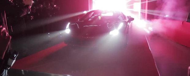Ferrari ne arata cum a fost la lansarea noului 488 GTB