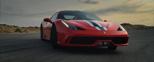 Ferrari prezinta in actiune noul 458 Speciale