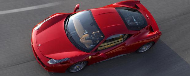 Ferrari recheama in service modelul 458 Italia... ca nu se deschide portbagajul
