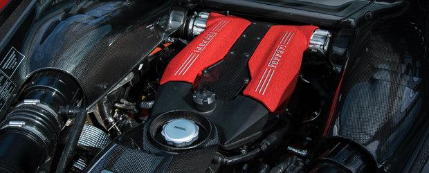 Ferrari se pregateste sa deschida sampania. A aparut primul TEASER cu noua masina de 700 de cai