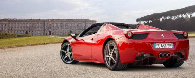 Ferrari Spider 458 se lanseaza oficial in Romania pe 22 noiembrie