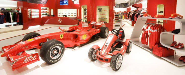 Ferrari Store ofera reduceri consistente de Black Friday