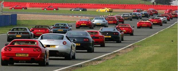 Ferrari vrea sa stabileasca un nou record mondial la Silverstone